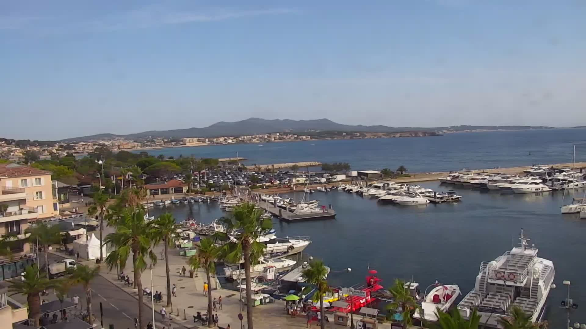 Webcam du port de Sanary-sur-Mer