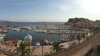 Webcam du port de Sanary-sur-Mer. Vue panoramique HD
