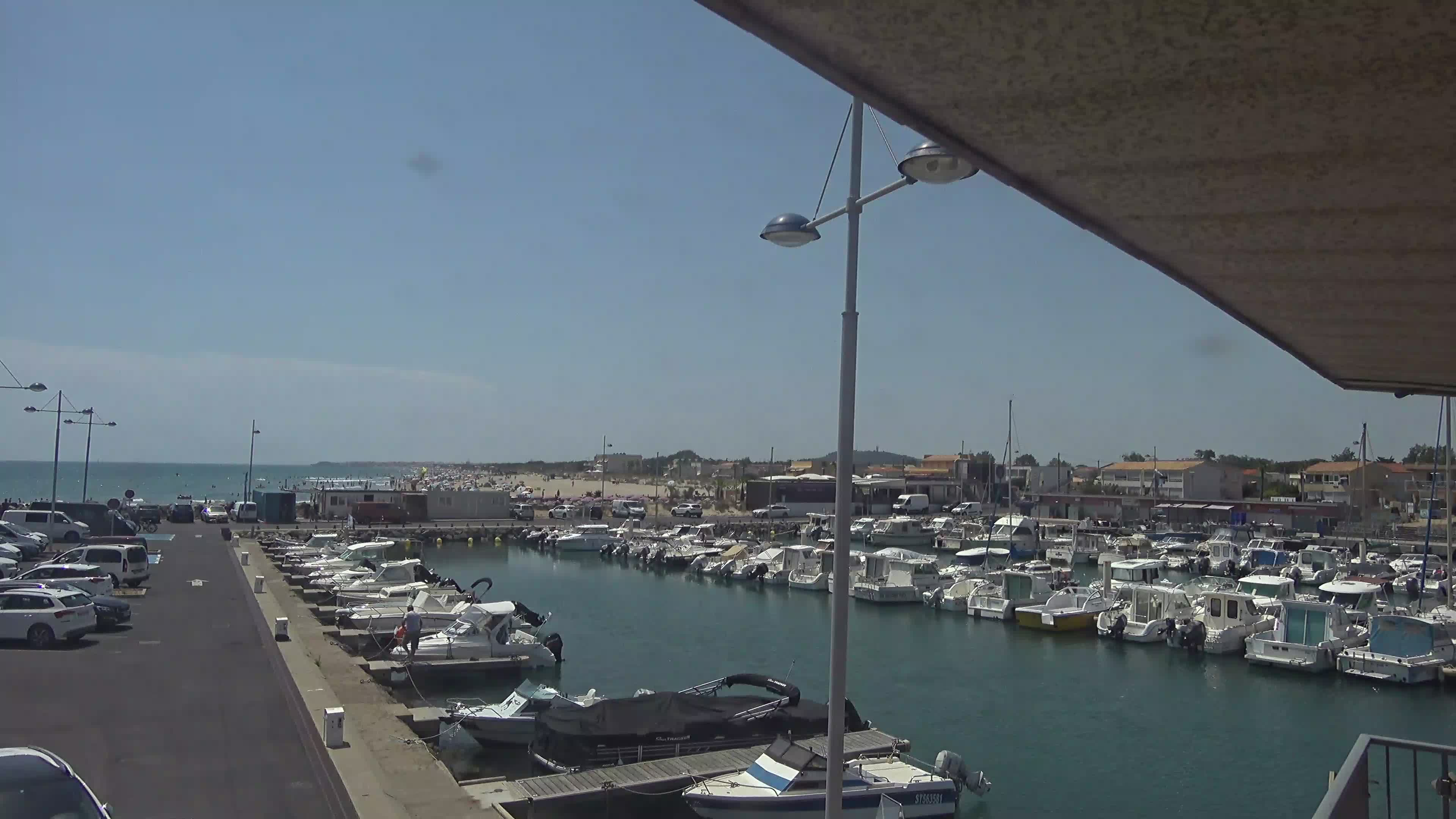 Webcam du port de plaisance de Marseillan plage